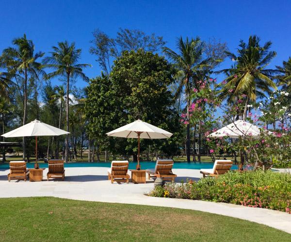 Pool at Pondok Santi