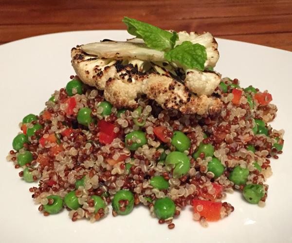 Quinoa salad at Pondok Santi