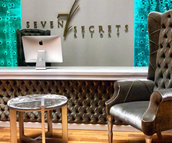 Lobby at Seven Secrets Resort Lombok