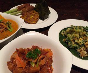 The Chedi Club vegan food 2
