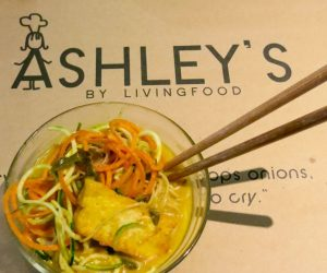 Ashley's by Living Food - vegan laksa