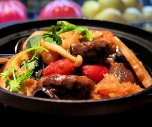 Grand Hyatt Singapore vegan food at mezza9 2