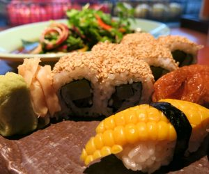 Grand Hyatt Singapore vegan food at mezza9 4