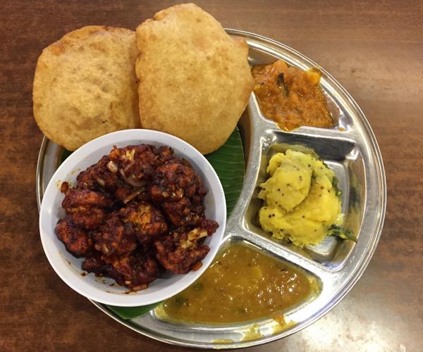 Kuala Lumpur Vegan Food - Saravana Bhavan 1