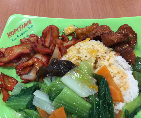 Singapore Vegan Food - eVeg Vegetarian 2