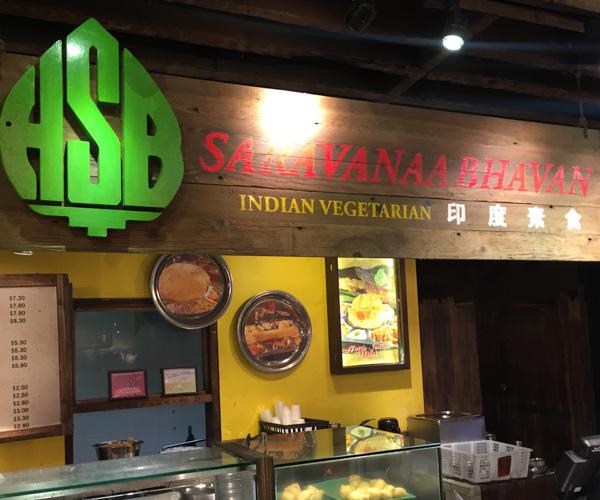 Singapore Vegan Food - Saravana Bhavan 1