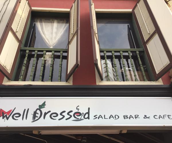 Singapore Vegan Food - Well Dressed Salad Bar 1
