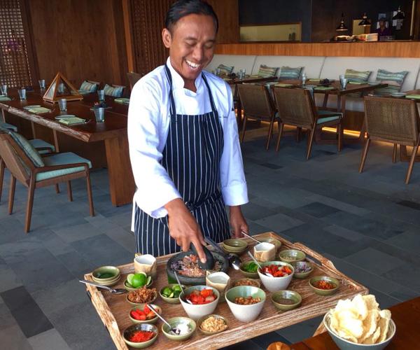 Chef Wayan at Six Senses Uluwatu