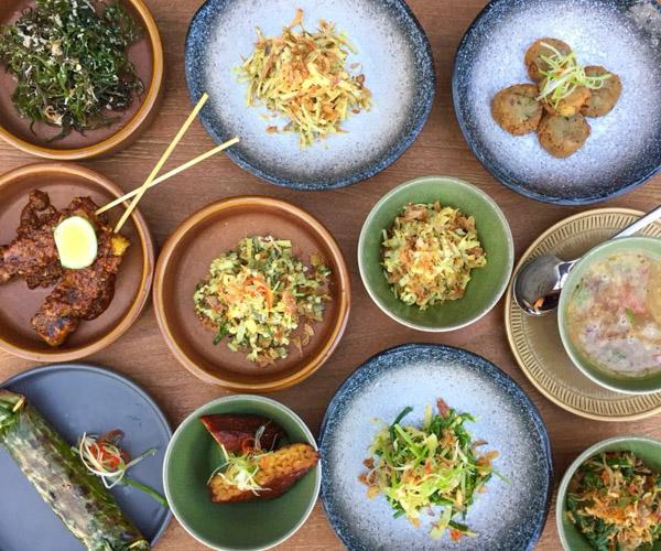 Vegan Menu Nusantara at Six Senses Uluwatu