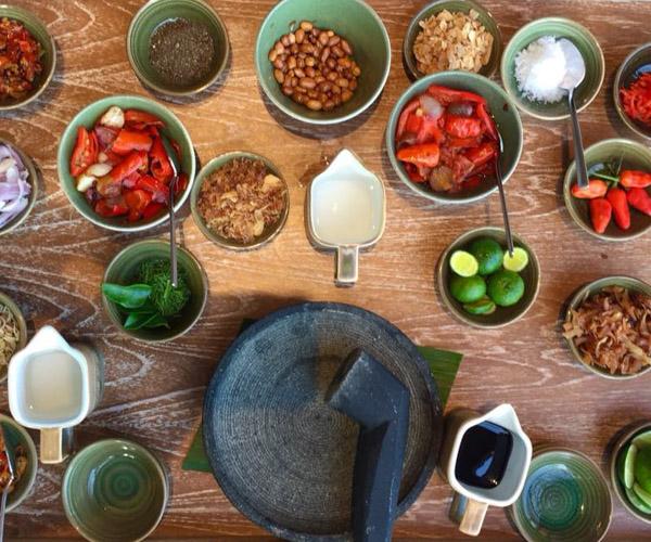 Vegan Ingredients at Six Senses Uluwatu