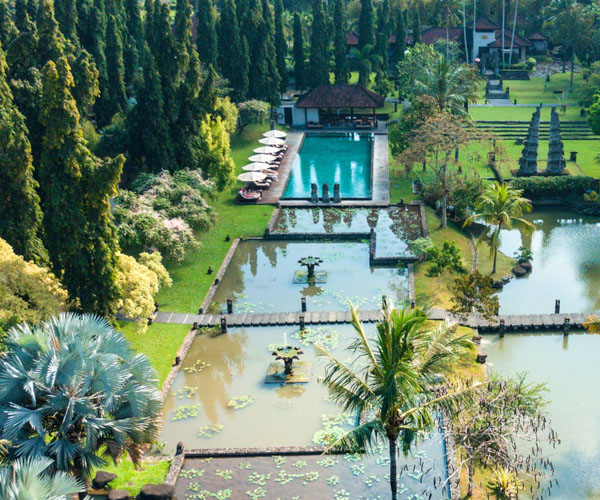 Aerial view of The Chedi Club