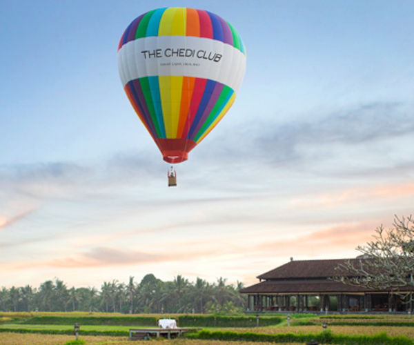 Balloon Experience at The Chedi Club