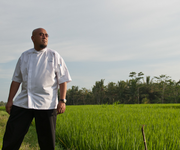 Chef Dean at The Chedi Club