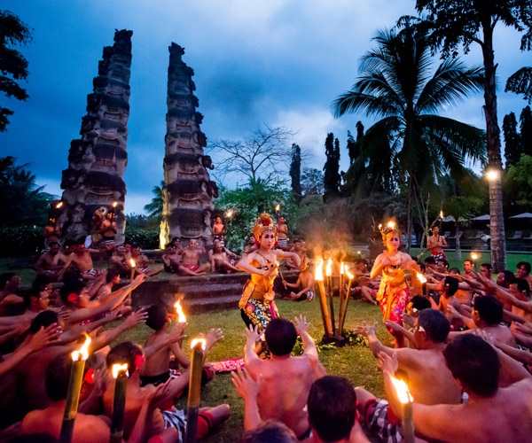 Kecak Dance at The Chedi Club