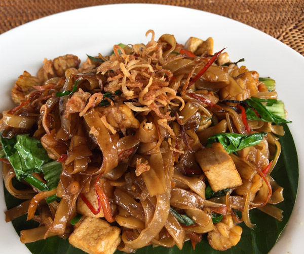 Vegan Mie Goreng at The Chedi Club