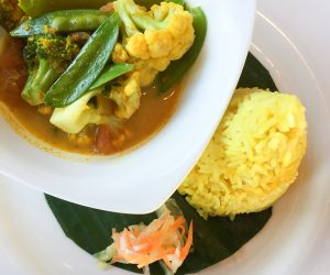 Vegetable Curry at The Chedi Club