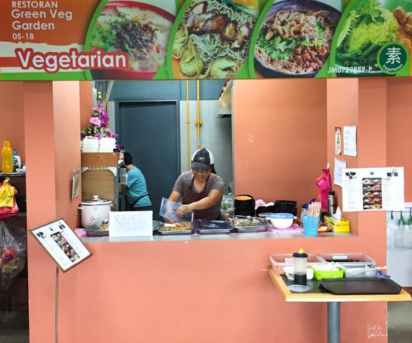 Vegan Food Johor Bahru - Green Veg Garden 1