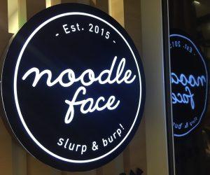 Vegan Food Johor Bahru - Noodle Face 1