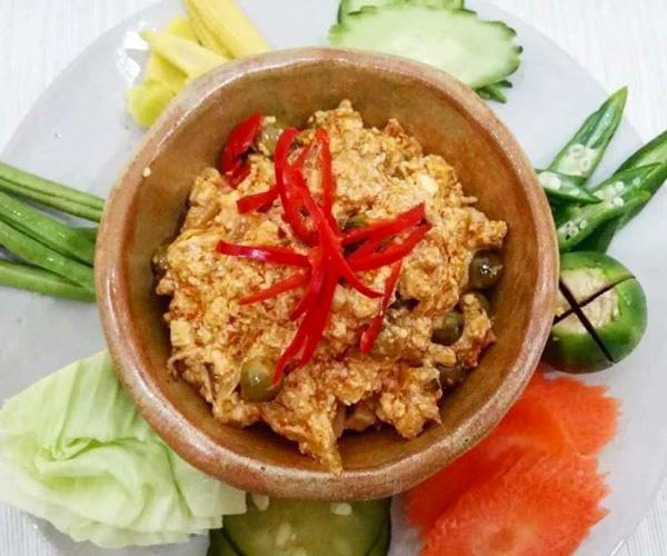Vegan food in Siem Reap, Prahok Khtis at Mahob Buos