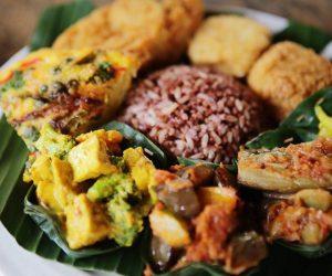 Warung Sopa vegan food 1