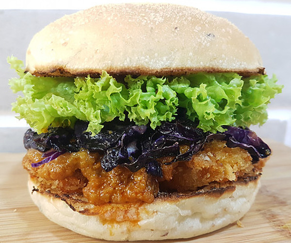 nomVnom Vegan Burger