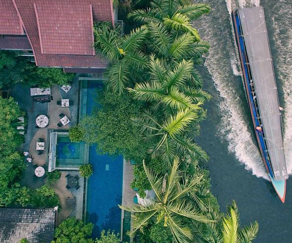 Ariyasom Villa - Aerial View
