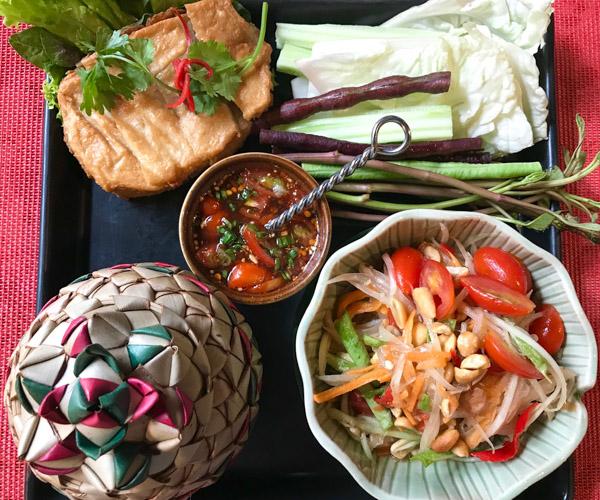 Ariyasom Villa - Papyaya Salad