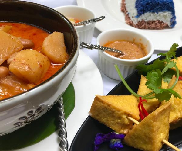 Ariyasom Villa - Tofu Satay