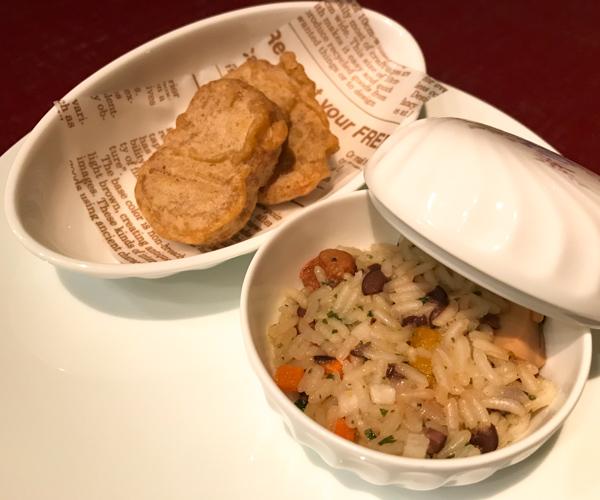 ANA InterContinental Tokyo vegan food 1
