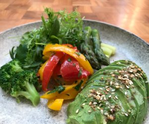 Andaz Tokyo vegan breakfast 2