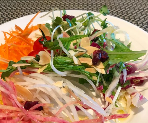 InterContinental Tokyo Bay salad plate