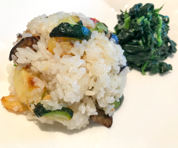 InterContinental Tokyo Bay vegan fried rice