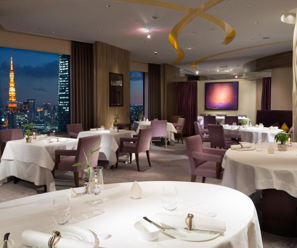 Pierre Gagnaire Tokyo Restaurant