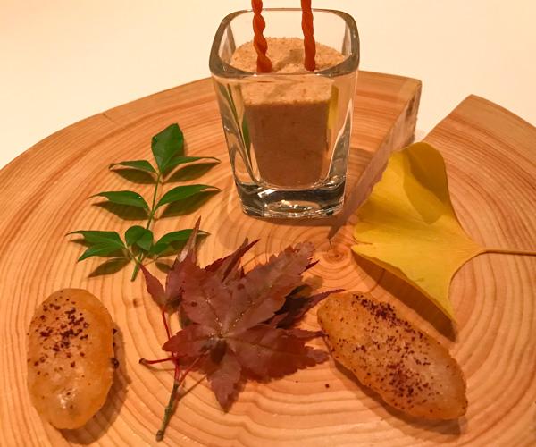 Pierre Gagnaire Tokyo vegan food 1