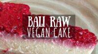 Bali Raw Vegan Cake Featured Image