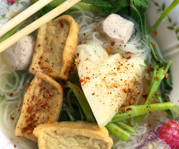 Bangkok vegan tour - Food Cart