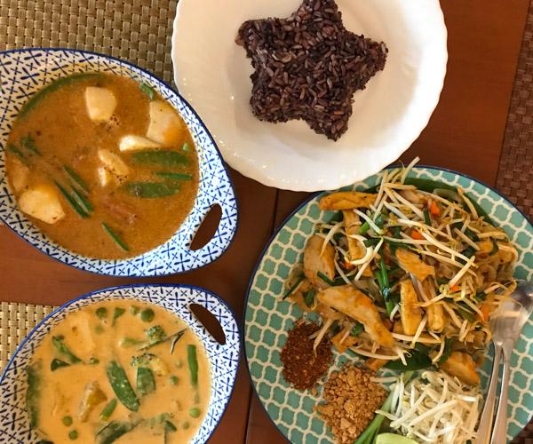 Bangkok vegan tour - May Veggie Home