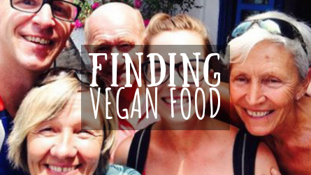 Finding Vegan Food Featured Image