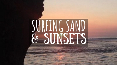 Surfing Sand & Sunsets Featured Image