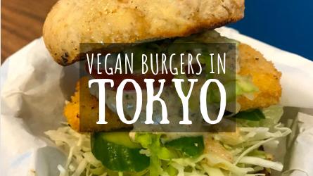 Vegan Burgers in Tokyo Featured Image