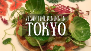 Vegan Fine Dining in Tokyo Featured Image