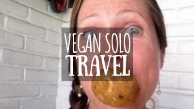 Vegan Solo Travel Featured Image