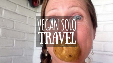 Vegan Solo Travel Featured Image
