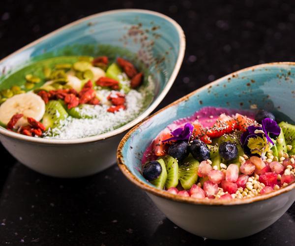 ZAZZ Urban Bangkok smoothie bowls