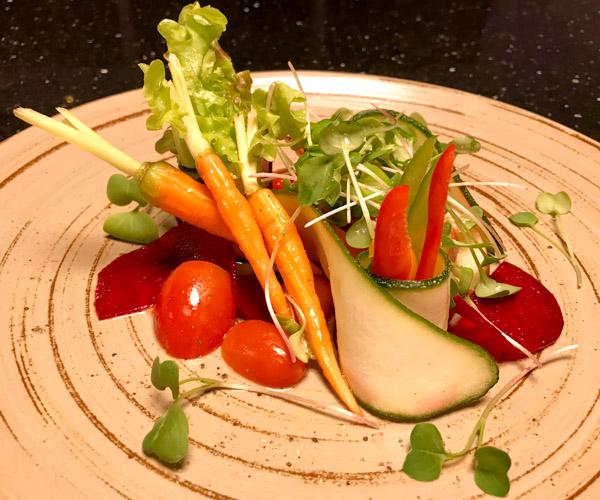 ZAZZ Urban Bangkok vegan salad