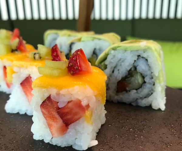 ZAZZ Urban Bangkok vegan sushi