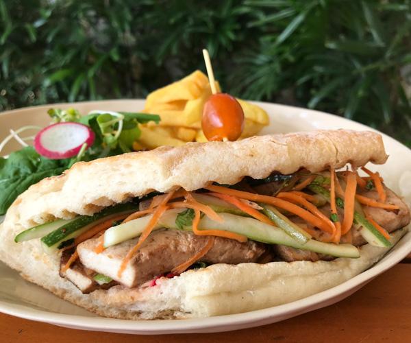 Fusion Resort Phu Quoc vegan banh mi chay