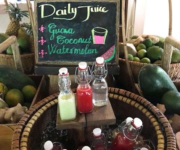 Fusion Resort Phu Quoc vegan juice