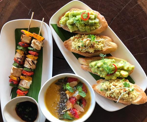 Fusion Resort Phu Quoc vegan lunch
