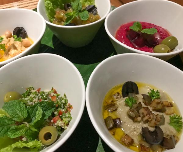 Fusion Resort Phu Quoc vegan mezze platter